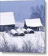 Bobby's Barn Metal Print by Garry McMichael