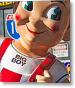 Bob's Big Boy Metal Print