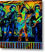 Boc #103 In Cosmicolors Metal Print