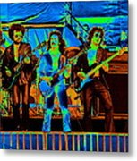 Boc #47 Enhanced In Cosmicolors 2 Metal Print