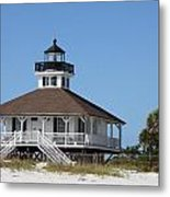 Boca Grande Light Metal Print
