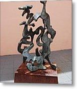 Boca Sculpture Metal Print