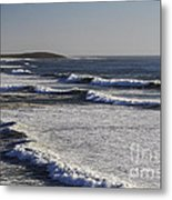 Bodega Bay Beach Metal Print