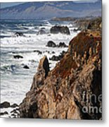Bodega Bay Color Metal Print