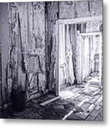 Bodie California In Black And White Metal Print