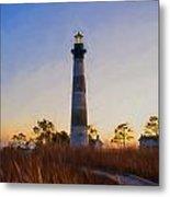 Bodie Island Lighthouse - D Metal Print