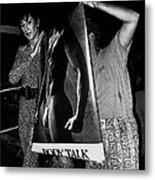 Body Talk Poster Prize Jello Wrestling Contest Gay Bar Tucson Arizona July 4th 1992 Metal Print