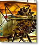 Boeing 100p Fighter Metal Print
