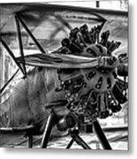 Boeing 100p Fighter II Metal Print