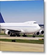 Boeing 747 Cargo Airplane Metal Print