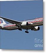 Boeing 767 Of American Airlines Metal Print
