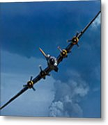 Boeing B-17 Flying Fortress Metal Print