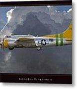 Boeing B-17 Metal Print