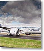 Boeing Dreamliner 787 Metal Print