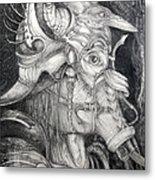 Bogomils Duckhunting Mask Metal Print