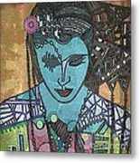 Bohee Woman Metal Print