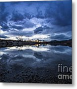 Boise River Just After Sunset Metal Print