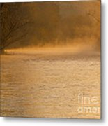 Boise River Sunrise Metal Print