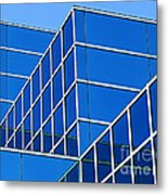 Boldly Blue Metal Print
