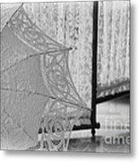 Boldt Castle Umbrella Metal Print