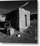 Bolivia By Moonlight Metal Print