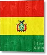 Bolivia Flag Metal Print