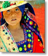 Bolivian Child Metal Print