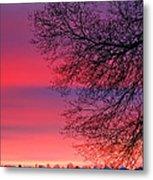 Bolton Sunset Metal Print