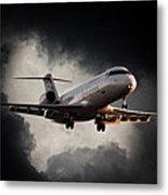 Bombardier Landing Metal Print