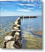 Bombay Beach 2 Metal Print