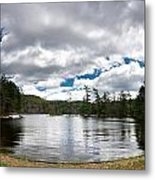 Bon Echo Lagoon Panorama Metal Print by Cale Best