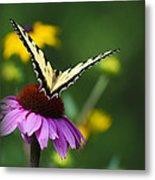 Bon Voyage Butterfly Metal Print