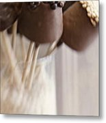 Bonbons Au Chocolat Metal Print