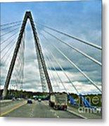 Bond Bridge In Kansas City Metal Print