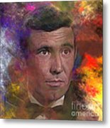 Bond - James Bond 2 - Square Version Metal Print