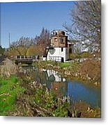 Bonds Mill Area Stroudwater Canal Metal Print