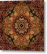 Bone Tapestry 2 Metal Print