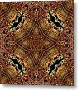 Bone Tapestry Metal Print