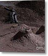Bones At Mud Pot Area I I Metal Print