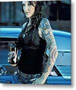Boneyard Girl II Metal Print
