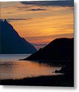 Bonne Bay Sunset Metal Print