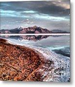 Bonneville Salt Flats Metal Print