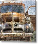 Bonnie And Clyde Metal Print by Debra and Dave Vanderlaan