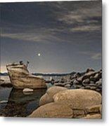 Bonsai Rock With Venus And Mars Metal Print