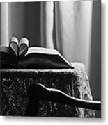 Book Heart 3 Metal Print
