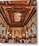 Book Heaven Metal Print