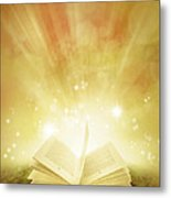 Book Of Dreams Metal Print by Les Cunliffe