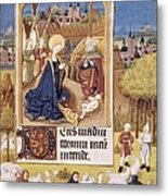 Book Of Hours Of Alonso Fern�ndez Metal Print by Everett