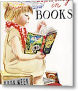 Book Week, 1961 Metal Print