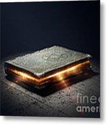 Book With Magic Powers Metal Print